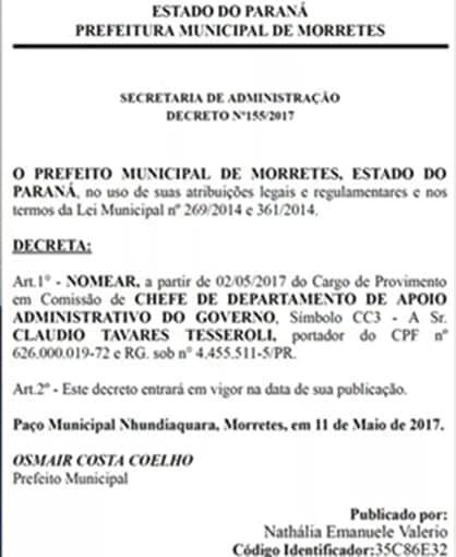 Prefeitura não explica contratação do advogado preso por corrupção e fraude 5