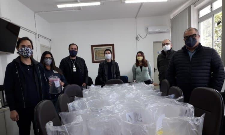 IFPR de Paranaguá realiza doação de máscaras faciais para secretaria de Saúde 1