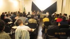 Público na última atividade do evento.
