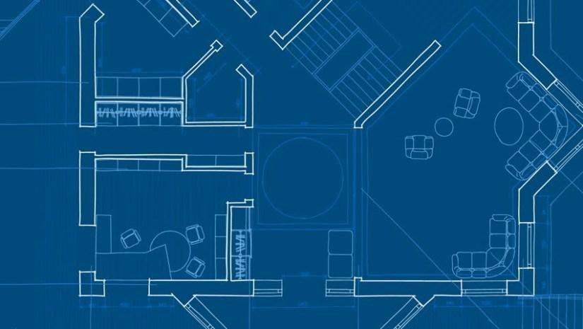 blueprint arquitetura shutterstock