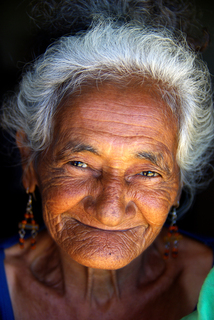 Fotografia de mulher idosa nordestina