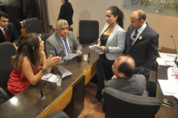 Vereadores discutiram de forma acirrada no plenário da Câmara Municipal de Natal