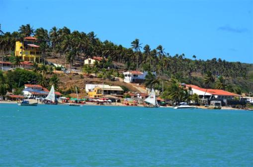 Resultado de imagem para bar, píer e lanchonete às margens de rio em Barra do Cunhaú