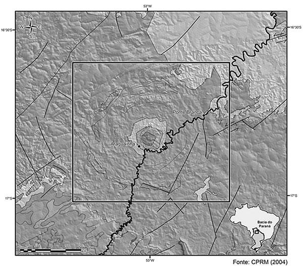 Resultado de imagem para cratera araguainha