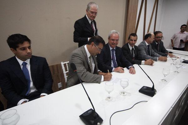 O novo presidente do Sebrae-RN, José Álvares Vieira,  foi empossado na manhã de hoje