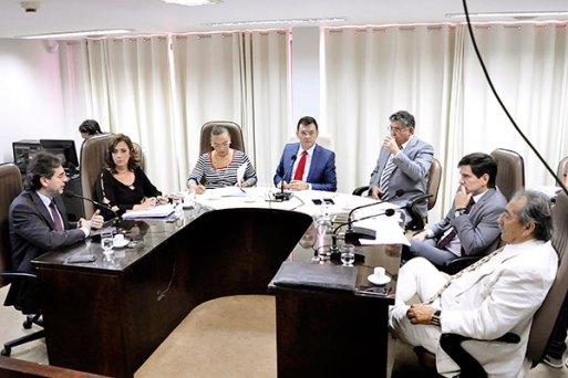 André Horta defende o projeto de lei durante reunião na Comissão de Constituição e Justiça