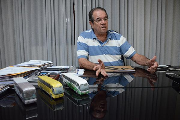 Presidente da Fetronor, Eudo Laranjeiras, diz que cinco empresas faliram em cinco anos no RN
