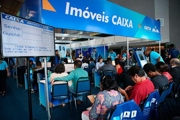 Caixa anunciou série de medidas, como redução de juros e ampliação de financiamento, este ano