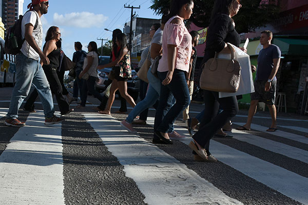 Resultado de imagem para pedestres em natal rn