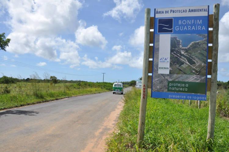 APA Bonfim-Guaraíras, localizada no litoral Sul, é uma das áreas de proteção regulamentadas pelo Estado, apesar disso desenvolvimento sustentável no RN ainda é utopia