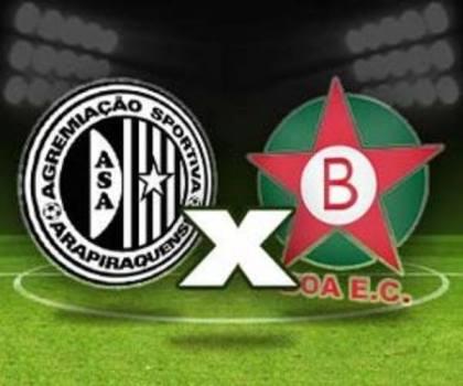 Assistir ASA x BOA ao vivo 21h00 Brasileirão Série B