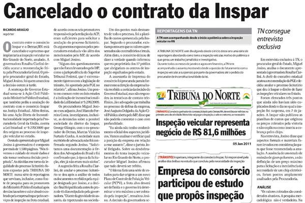 TRIBUNA DO NORTE denunciou o esquema no início deste ano