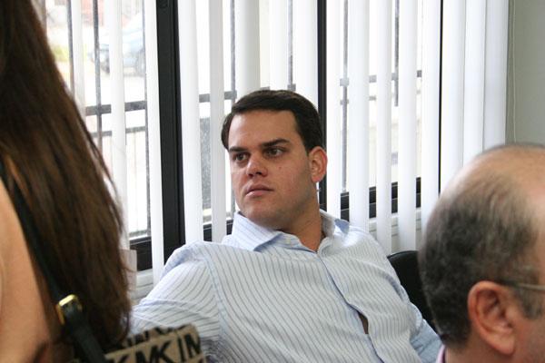 George Olímpio, acusado de ser o mentor do esquema de corrupção, é um dos três que estão presos