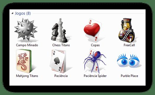 Instalar jogos do Windows 7