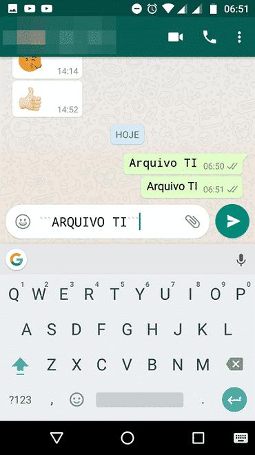 Veja como usar a nova fonte secreta do WhatsApp 1