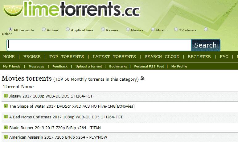 Veja a nossa lista com os melhores sites torrents de 2018 4