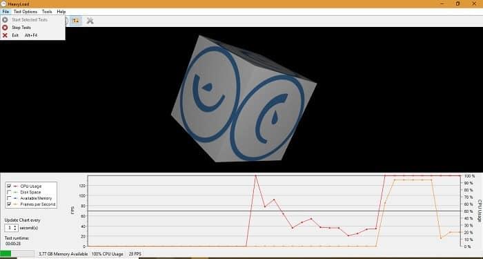 Melhores programas de teste de stress para testar CPU 1