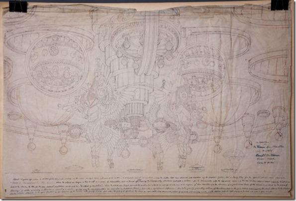 crazybox4 thumb Caixa misteriosa encontrada no lixo revela desenhos de OVNIs, extraterrestres e seres alados