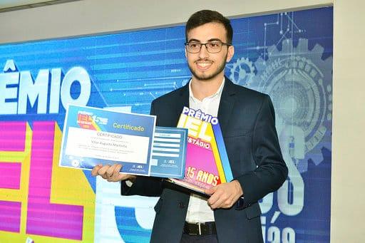 Vitor Augusto Dib - 1º lugar na categoria Estagiário Destaque