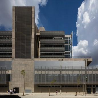 Parte da fachada do hospital construído pela MPD Engenharia.