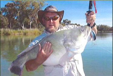 Steve Cooper with 16kg Murray Cod