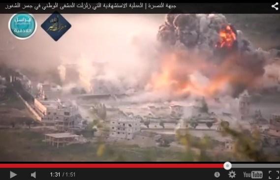 Serangan Bom Bunuh Diri di Rumah Sakit Jisr Al-Shugur