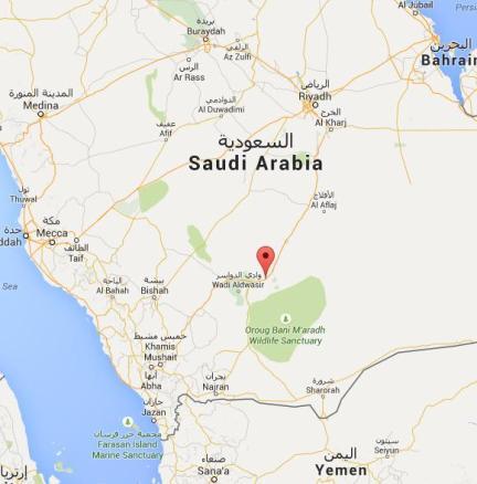 ARN001200400151131218_Rudal_Yaman_Hantam_Pangkalan_Militer_Saudi_Di_As Sulayyil_Propvinsi_Riyadh