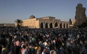 Sholat Idul Fitri di Al-Aqsha