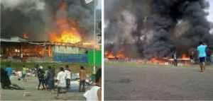 masjid papua dibakar saat solat iedul fitri