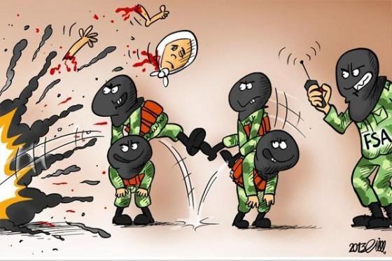 Karikatur Rusia