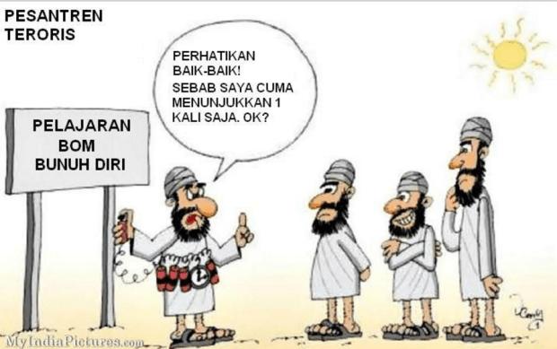 Pesantren ISIS Ajari Pengeboman