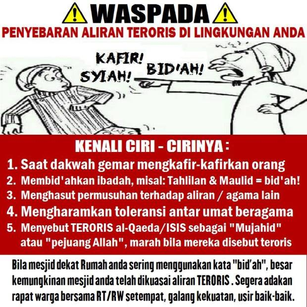 Ciri-ciri Wahabi