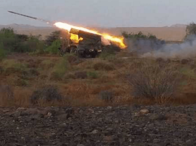 Pasukan Yaman Hujani Kamp-kamp militer Saudi dengan rudal