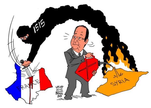 Dari paris Hingga Suriah