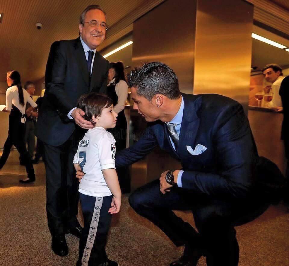 Cristiano Ronaldo With Haider