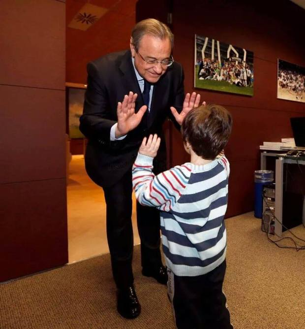 Haider dan Presiden Real Madrid