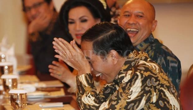 Jokowi dan Para Pelawak