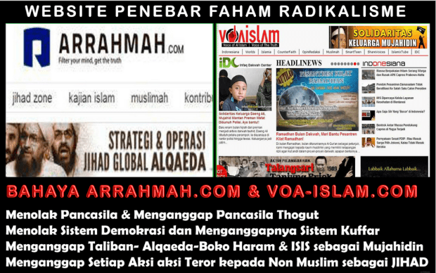 Media Radikal di Indonesia