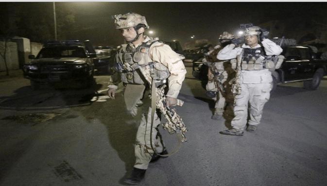 Ledakan Keras di Afghanistan