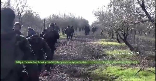 Pasukan Suriah buru teroris di Sheikh Meskeen