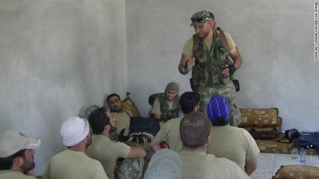 Mahdi Harati bersama brigade teroris di Suriah