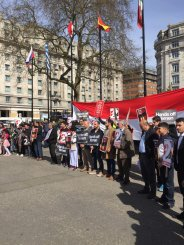 Demonstran London