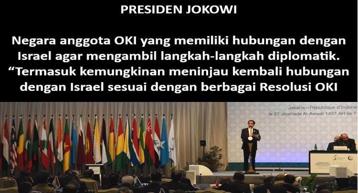 Jokowi di KTT OKI Istanbul 'Tampar' Barat dan Negara Arab Terkait Palestina
