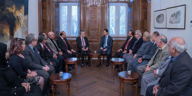 Assad Tegaskan Pentingnya Perlindungan Intelektual Masyarakat Arab