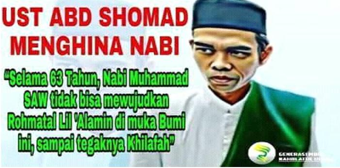 Netizen Kecam Klarifikasi Ustad Abdul Somad Lecehkan dan Hina Nabi Muhammad