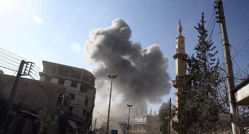 Rusia: Negara-negara Pendukung Teroris Bertanggung Jawab atas Situasi di Ghouta Timur