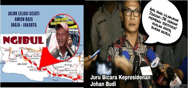 Satire Pedas Denny Siregar kepada Amien Rais 'Jokowi Tukang Ngibul'