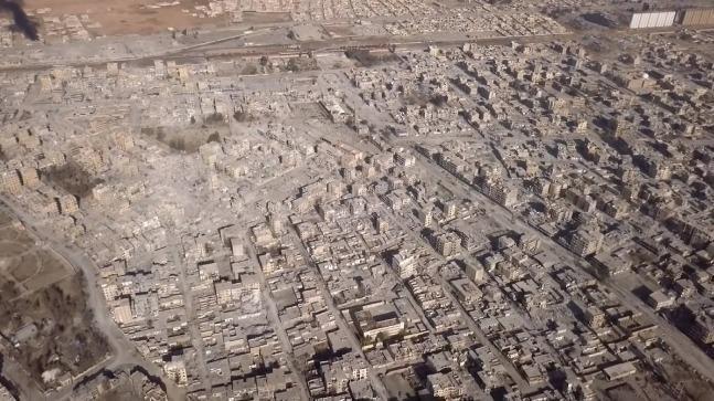Gambar Terbaru Kota Raqqah Menunjukkan Kehancuran Besar dan Jejak Kejahatan AS