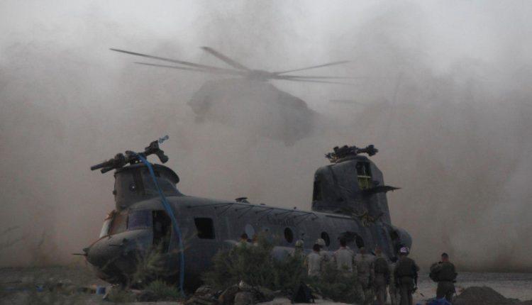 Helikopter Militer AS Jatuh di Perbatasan Irak-Suriah