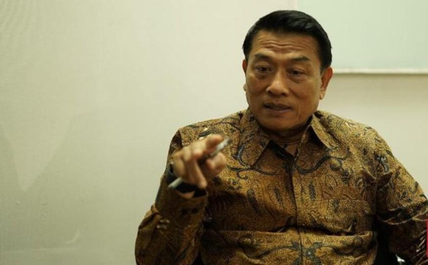 Moeldoko Pasang Badan Jika Jokowi Diganggu